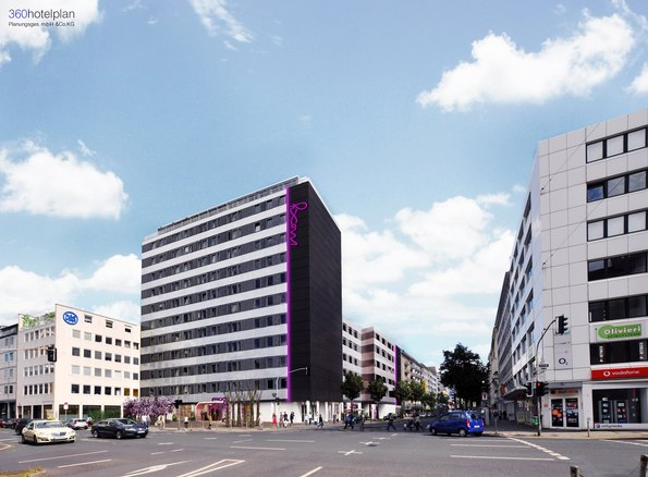 neues moxy hotel in d sseldorf sv hotel und ardstone capital planen economy lifestyle hotel mit. Black Bedroom Furniture Sets. Home Design Ideas